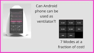 Agva Ventilator Worlds Cheapest Ventilator | Phone functioning as Ventilator | Diagnotherapy YouTube Videos