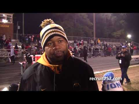 Highland Springs comes back to beat Nansemond River, 28-18