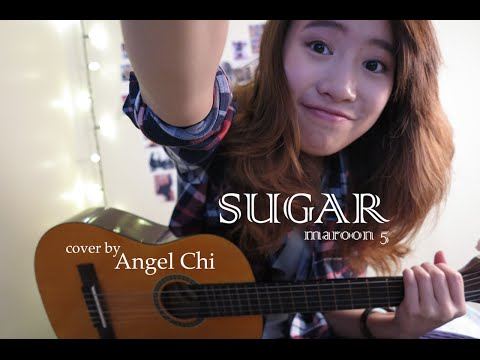 Sugar - Maroon 5 (Live acoustic guitar cover) Angel Chi