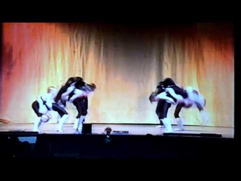 Karen yates school of dance - acrobatic troupe - 'dream of olwin' millennium showtime 1999