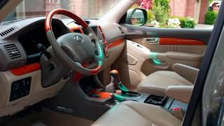 Beat-Sonic stereo replacement on 2003-2009 Lexus GX 470 with