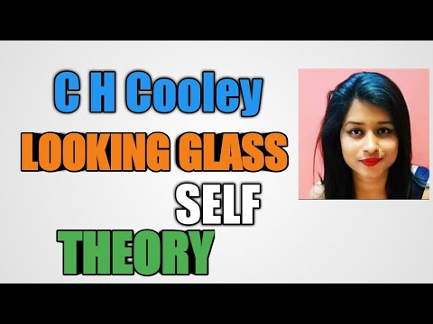 C.H Cooley Looking Glass Self Theory In Hindi
