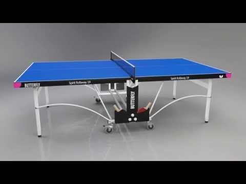 Butterfly Spirit 19 Indoor Rollaway Table Tennis Table