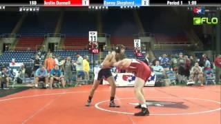 Junior 160 - Justin Dunnell (Minnesota) vs. Danny Shepherd (Utah)