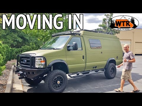 Moving In To A Sportsmobile Classic 4x4 Pop-Top Camper Van | Van Life S2:E17