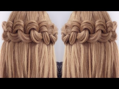 Easy Big Loop Braids Hair Tutorial YouTube