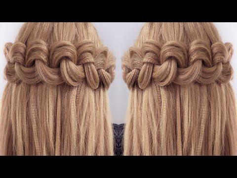 Easy Big Loop Braids Hair Tutorial  YouTube
