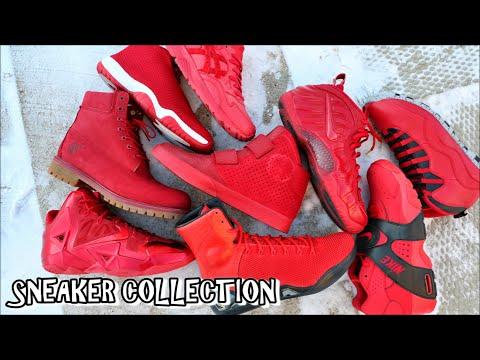 ALL RED SNEAKER COLLECTION