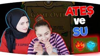 ATEŞ VE SU OYUNU | Part 1 | Eğlenceli Video - Funny Games Fenomen Tv