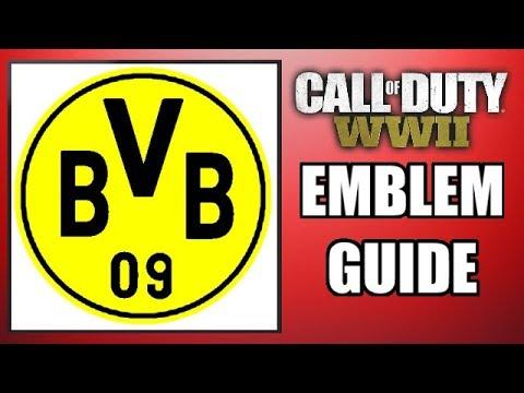 COD: WW2 - BORUSSIA DORTMUND! - Easy Emblem Guide