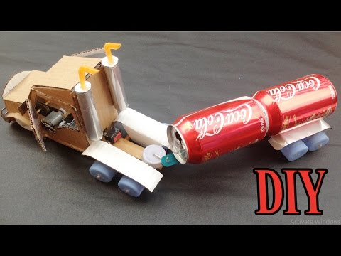 How to Make Electric Truck DIY At Home - Awesome Powered Car Very Easy