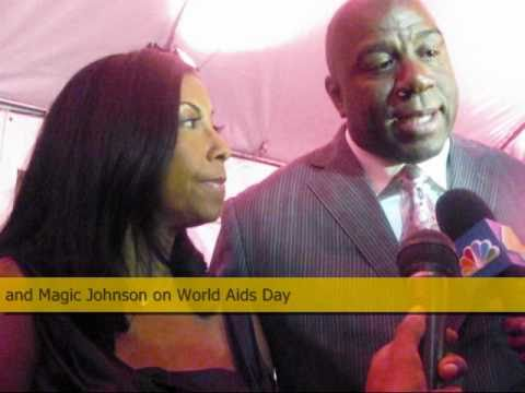 Magic Johnson and World AIDS Day 2010