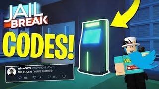 CODES COMING IN JAILBREAK & NEW VEHICLES! (Roblox)