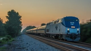 Amtrak Extravaganza; 2 hours of Amtrak in Virginia 2016!