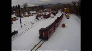 12/8/2018 Cumbres and Toltec Christmas Trains 2018 Saturday train 4