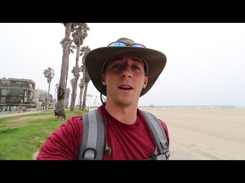 Zachary's Vlog, Days 1-2: Los Angeles Time