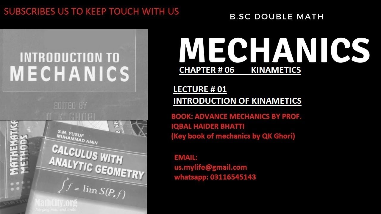 INTRODUCTION TO MECHANICS BY Q K GHORI PDF
