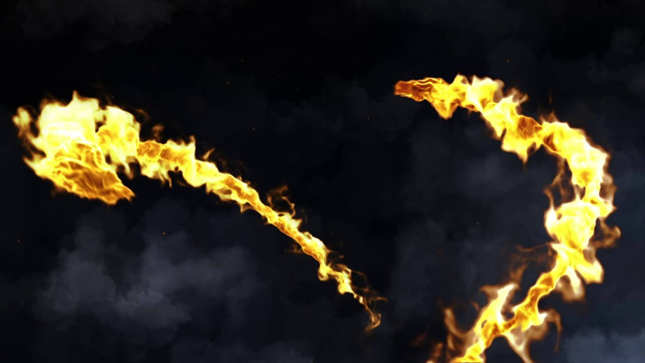 After Effect Intro Template Dragon Fire Dragon De Feu