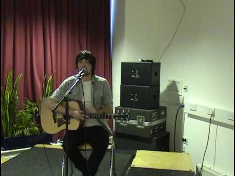South Birmingham College Live Performance - Ben K, 'The Milky Bars Are On Me'