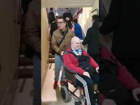 Discapacitados atrapados en el Huerta del del Rey de Valladolid