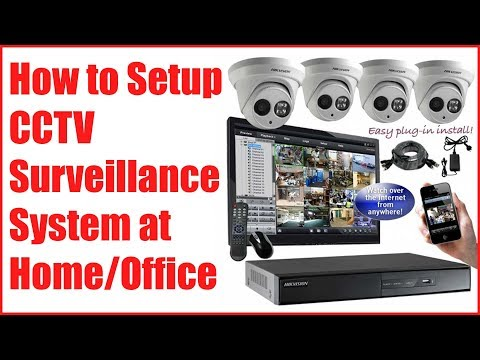 how to connect ip camera to dvr