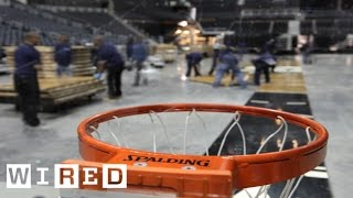 Barclays Center Part 3: The Conversion Crew That Transforms the Venue for Events-The Window-WIRED