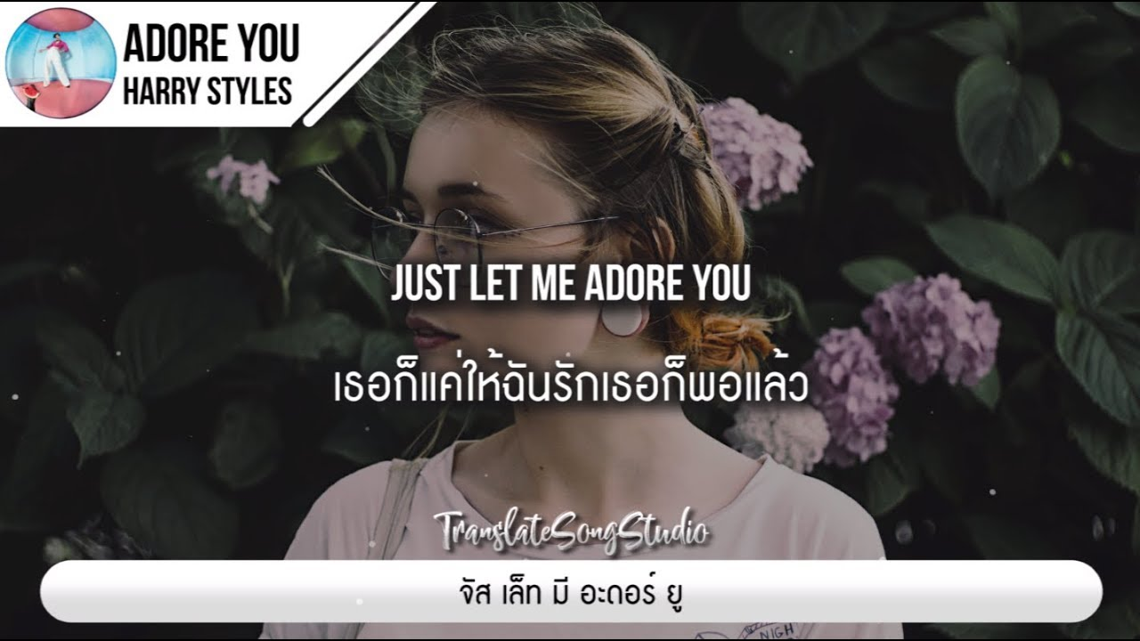 แปลเพลง Adore You - Harry Styles
