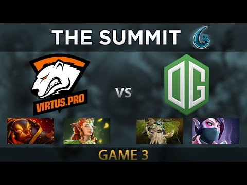 VP vs OG - Game 3 - The Summit 6 Grand Finals - Zai, Cr1t, Sumail, Universe, Arteezy