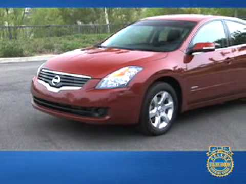 2008 Nissan Altima Hybrid Review Kelley Blue Book Youtube