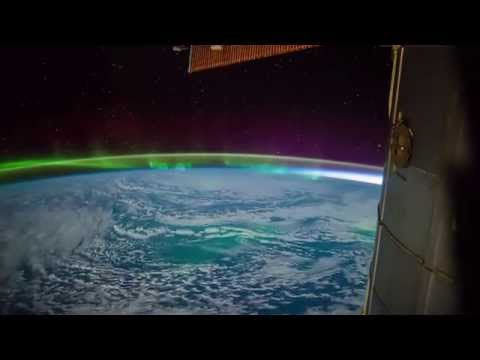 ISS Timelapse - Southern Indian Ocean Aurora (03 Marzo 2015)