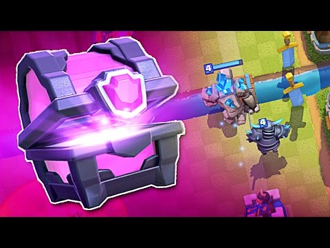 MAGICAL MADNESS :: Clash Royale :: MAGICAL CHEST CHALLENGE!?