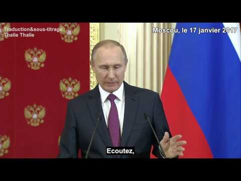 Vladimir Poutine commente les attaques contre Donald Trump