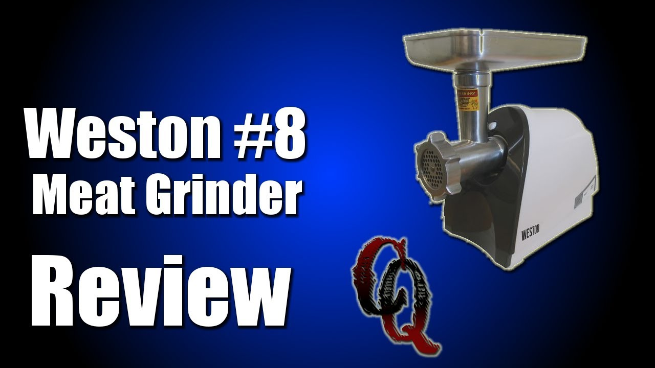 how to make weston 8 meat grinder review grinding pork