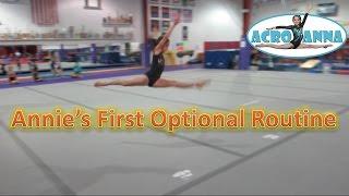Annie's Level 7 Floor Routine   Acroanna