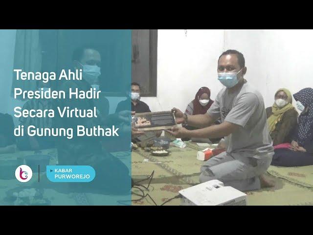 Tenaga Ahli Presiden Hadir Secara Virtual di Gunung Buthak