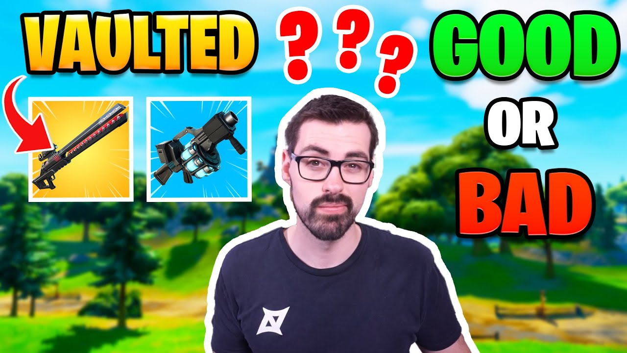 Epic Vaults Recon and Rail Gun | Is This Good or Bad for Fortnite?