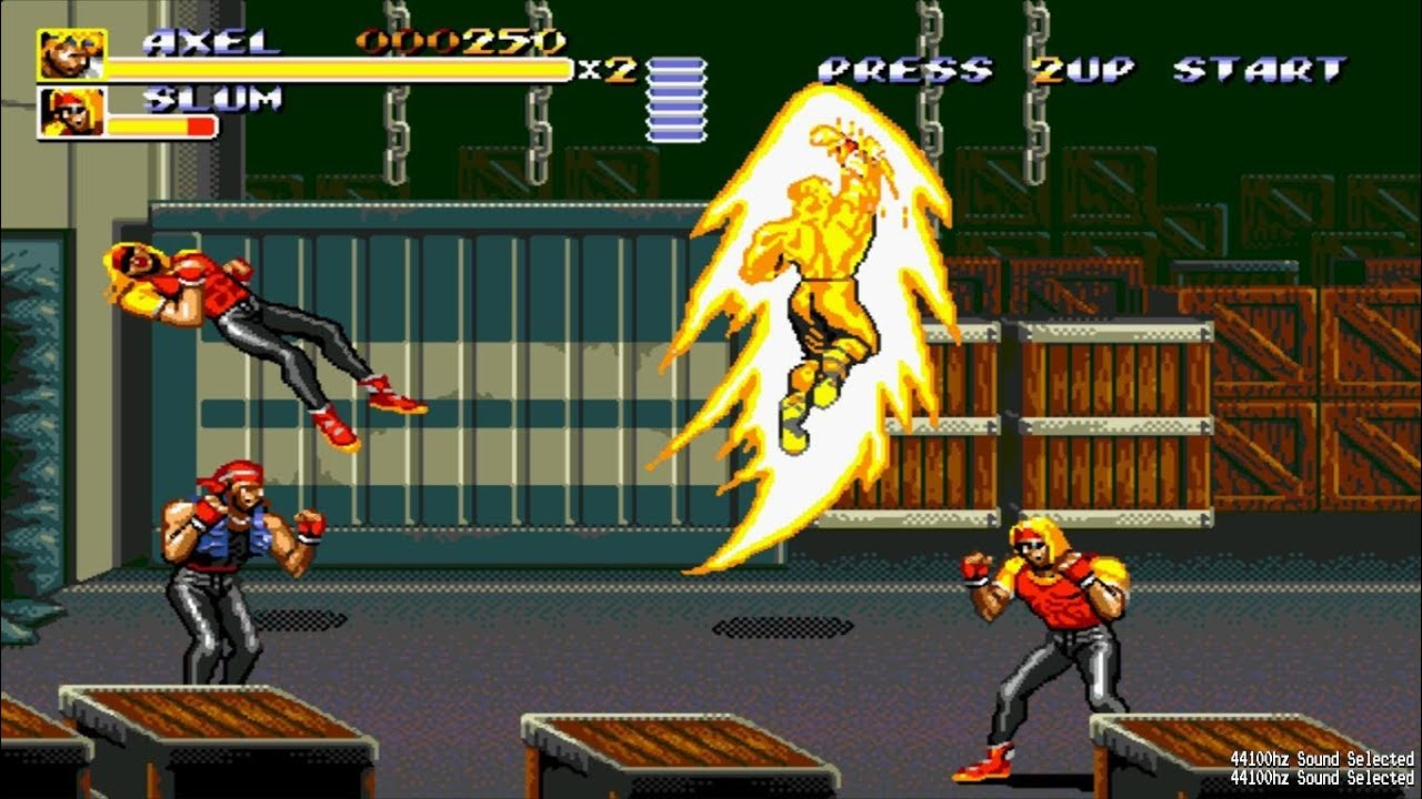 Streets Of Rage 3 Bare Knuckle 3 Maestro J M G Hack Axel