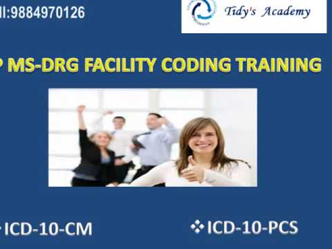 Tidy's Academy - Inpatient MS-DRG Coding Training
