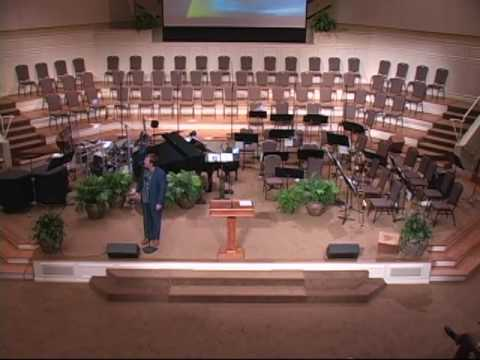 Terry Warren Sings My Lord Is Near Me All The Time At Judson Baptist Church