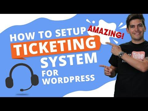 How To Add A Customer Support Ticketing System To WordPress  (WordPress Helpdesk Plugin)
