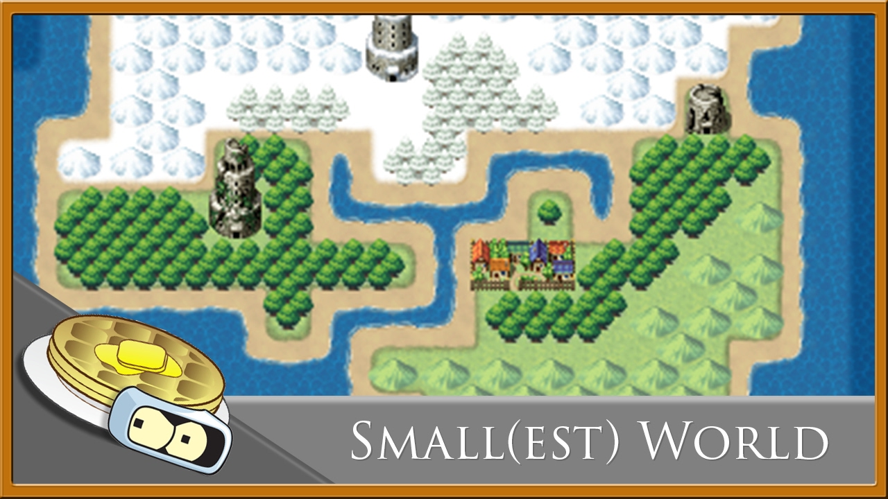 Small(est) World Map Speed Development - RPG Maker MV