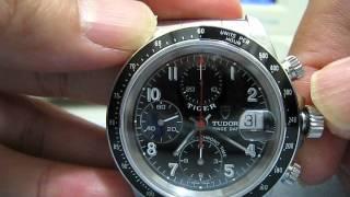 Tudor Tiger Chronograph Prince Date Ref.79260 B88569X Function Testing