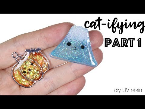 Watch me how to Resin Tutorial: Cat-ifying Part 1