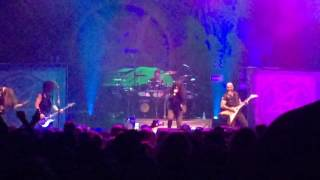 anthrax evil twin clip 09 27 16 hard rock live orlando fl