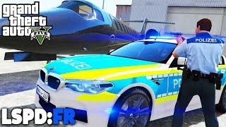 GTA 5 LSPD:FR - FLUGZEUG GESTOHLEN! - Deutsch - Polizei Mod #69 Grand Theft Auto V