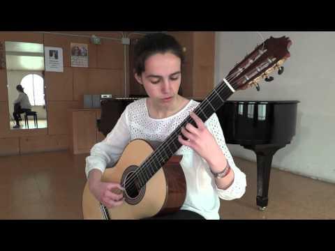 Guitarra clásica. Conservatorio Profesional de Música Cristóbal de Morales, Sevilla