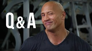 Q&A Time With The Rock