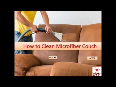 How to Clean Microfiber Couch - Home Remedies: An Incredibly Easy Method That Works For All
