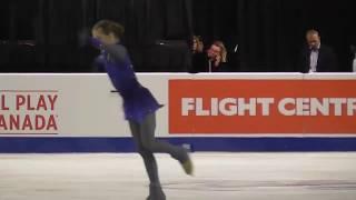 Free Program Alexandra Trusova Skate Canada 2019