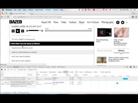TUTORIAL : HOW TO DOWNLOAD ANY MUSIC STREAM USING CHROME